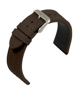 WB EULIT Canvas strap Dark Brown
