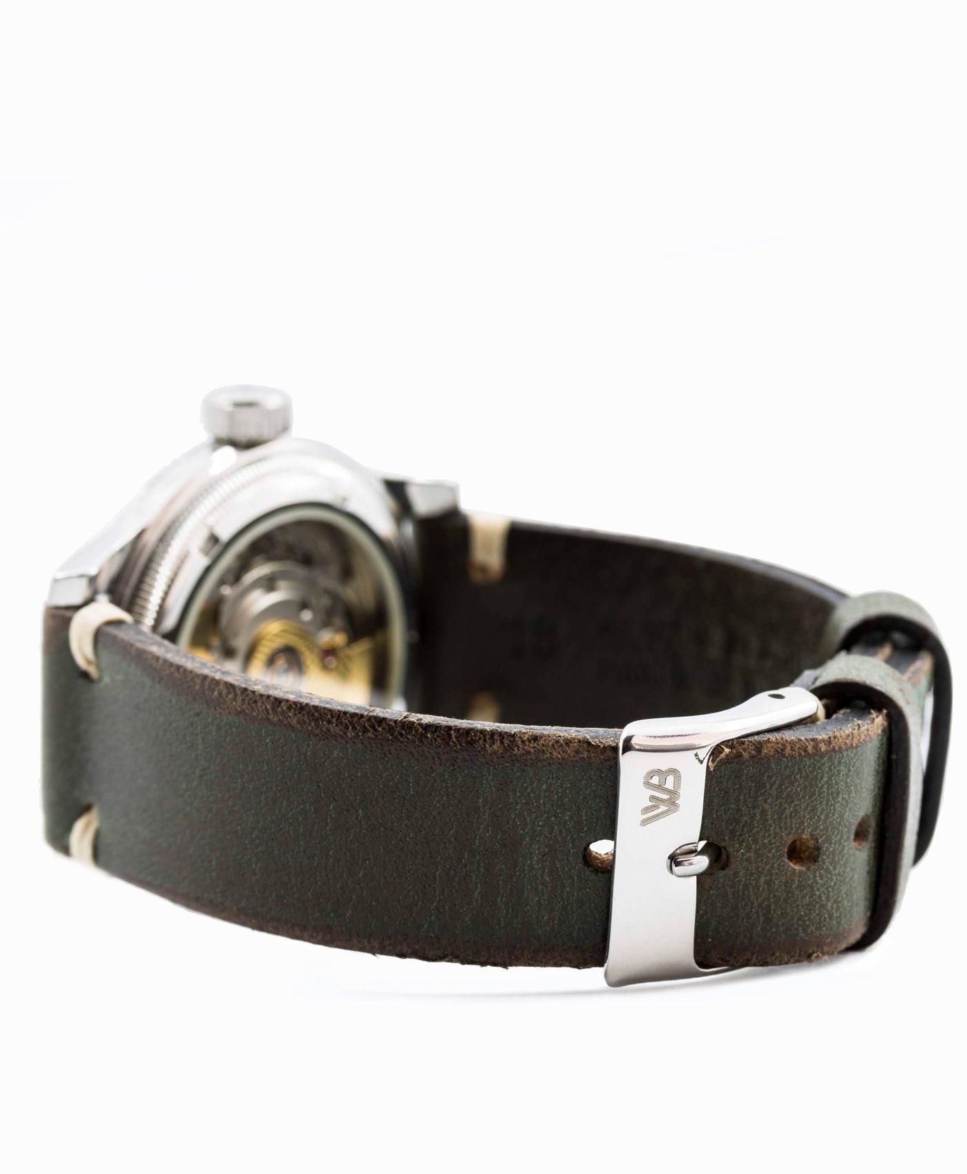 Oris_watch_strap__vintage_leather_military_green_watchbandit_original