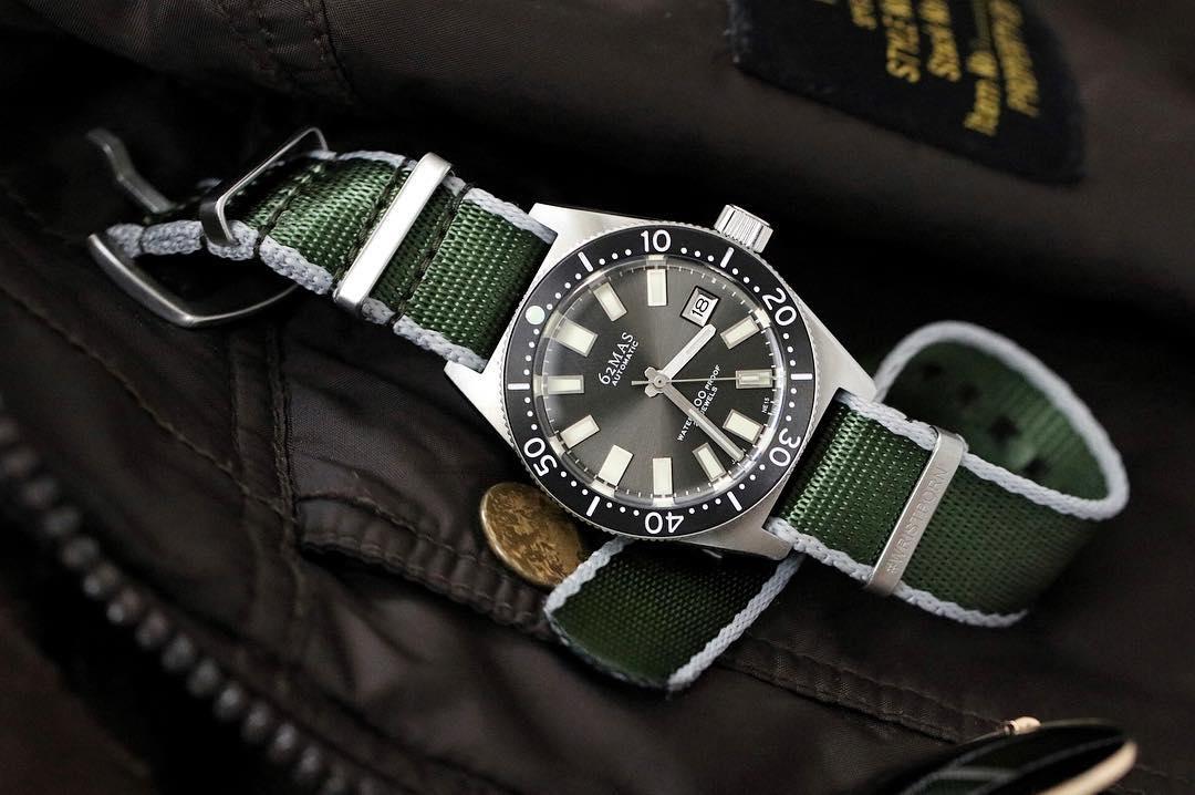 Manchester watch works 62MAS nato strap watchbandit