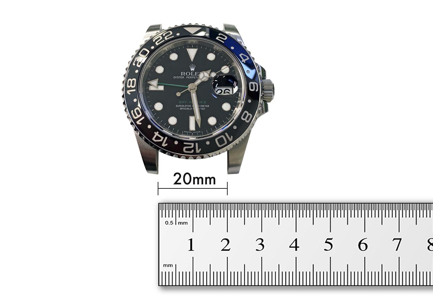 Rolex GMT Master II lug width 20mm