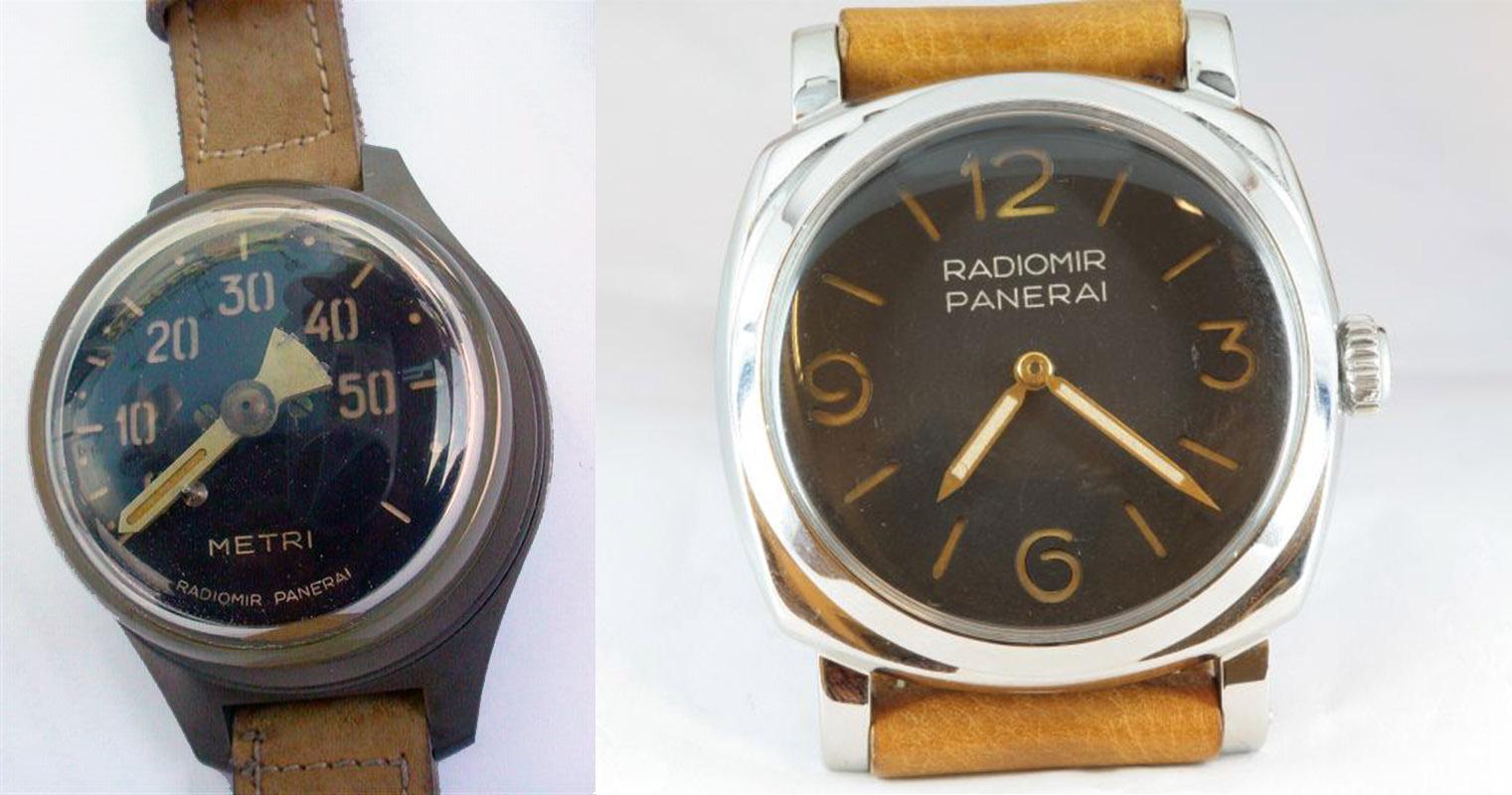 Profondimetro historischer Tiefenmesser Radiomir Panerai Uhr