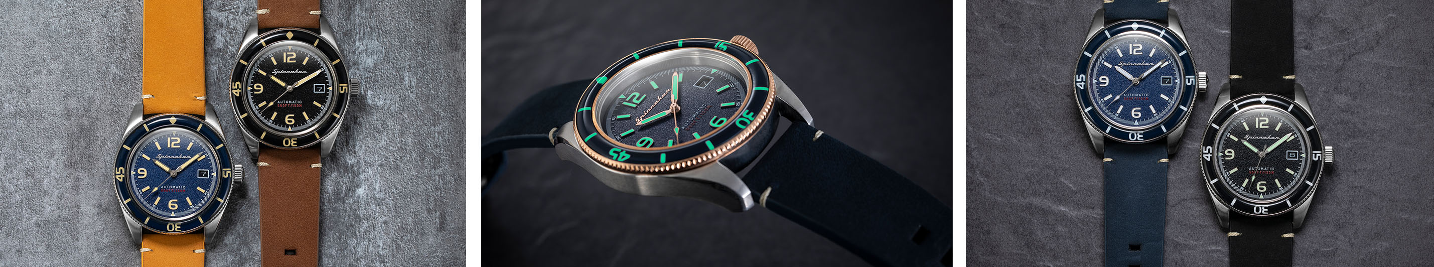 Spinnaker Fleuss Kollektion with lume shot