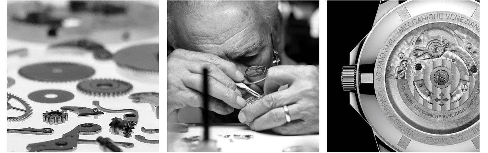 Watchbandit Watchmaking of Meccaniche Veneziane