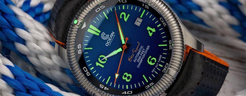Ocean crawler champion diver g blue Leuchtfarbe