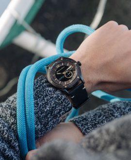 Spinnaker Sorrento Watch maritim mit Segeltau
