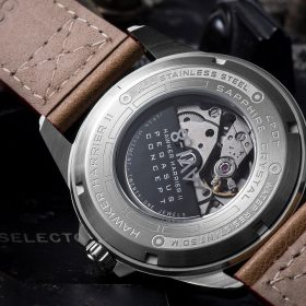 AVI-8 Hawker Harrier II AV-4047-04 caseback miyota movement
