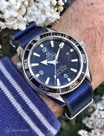 Omega Seamaster Professional blau Nato WB Original von @apiacreations