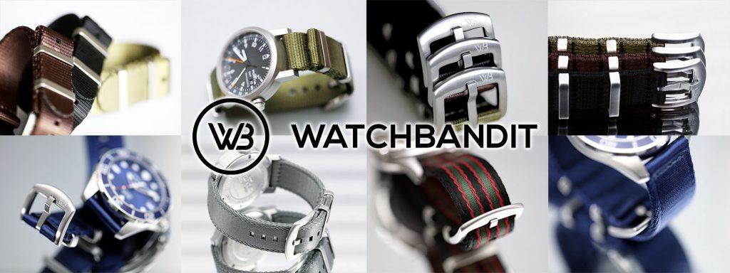 WatchBandit WB Original Uhrenarmbänder Titelbild