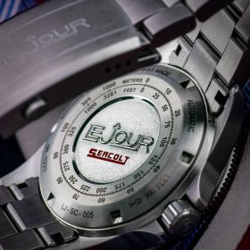LeJour Seacolt GMT case back