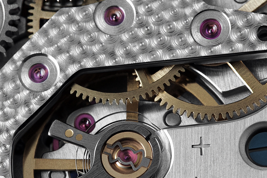 Raketa watches movement detail