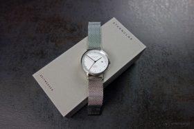 Sternglas Zirkel Uhr und Box