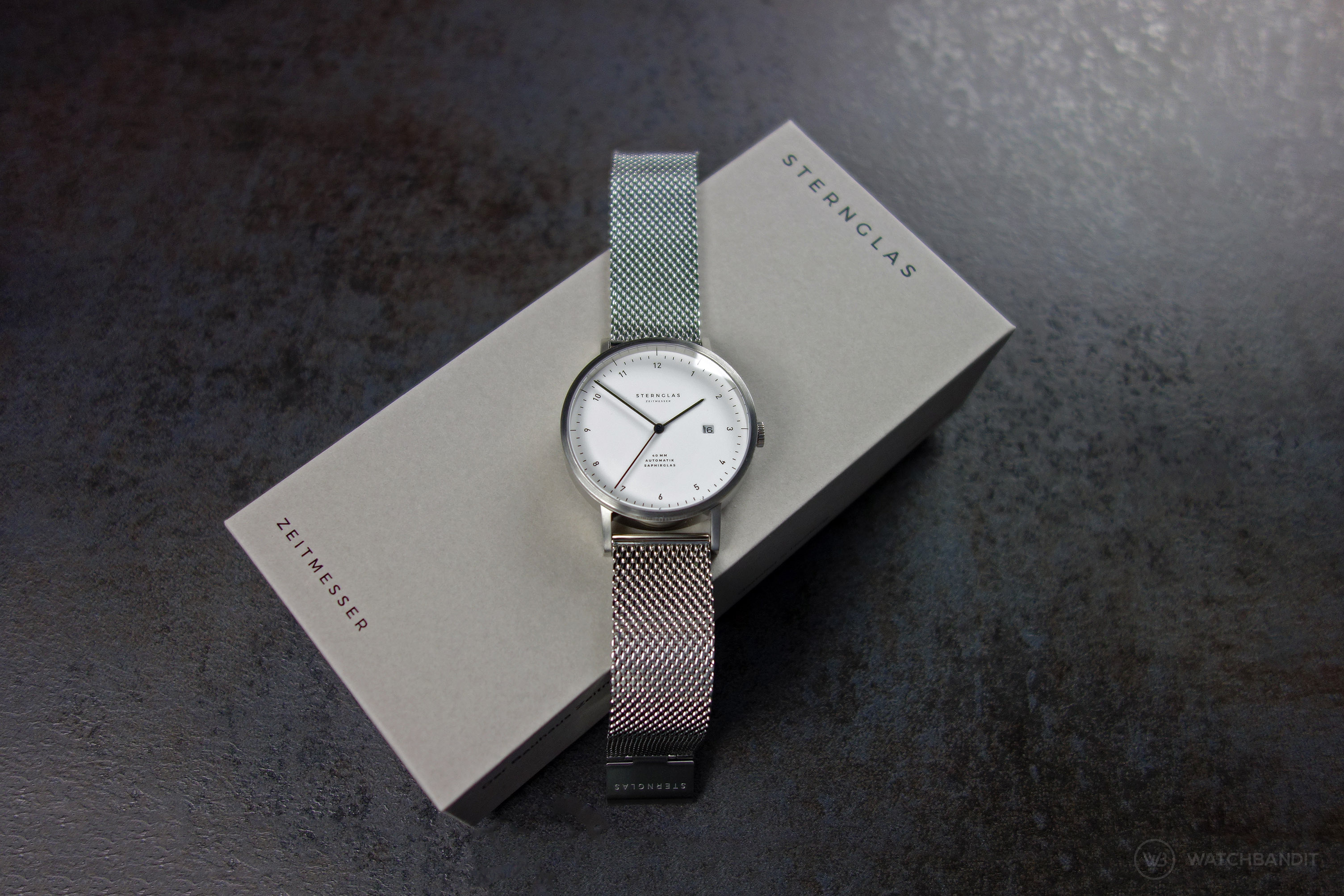 Sternglas Zirkel watch and box