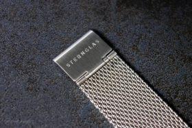 Sternglas Zirkel Milanaise Armband Schließe
