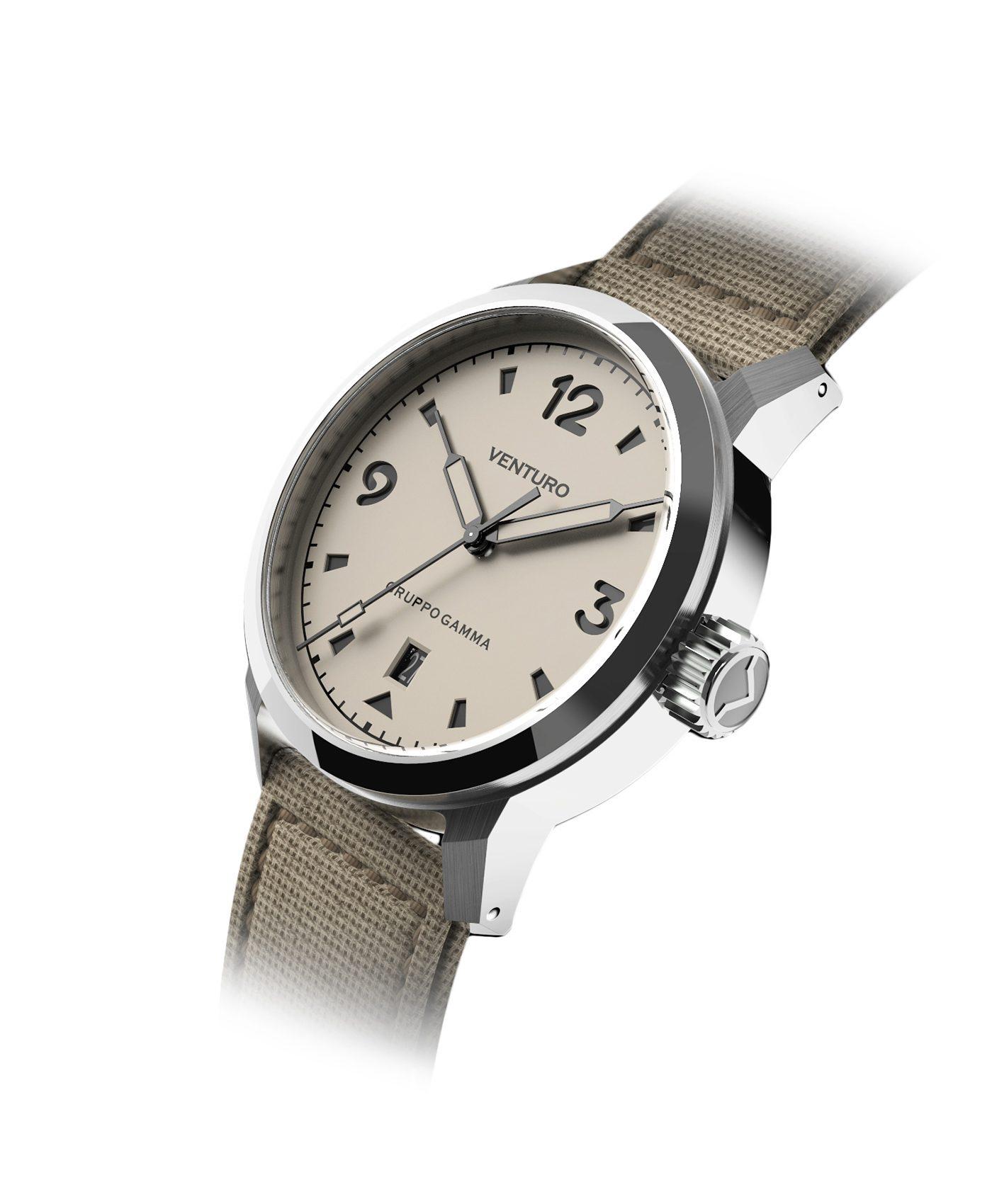 Venturo - Field Watch - Black Dial & BGW9 markers