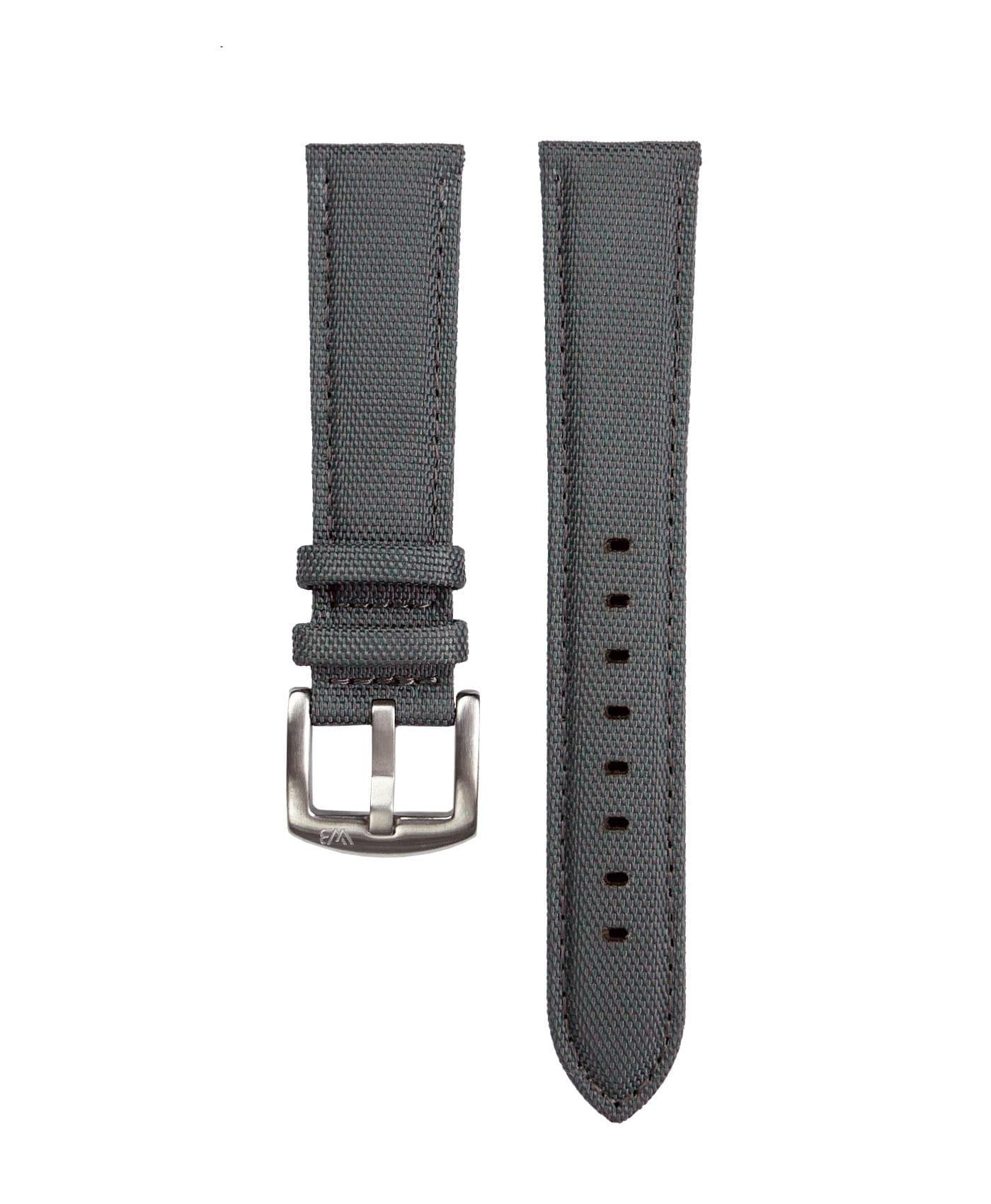 Cordura Watch Strap dark grey by Watchbandit