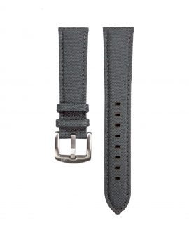 Cordura Watch Strap dark grey by Watchbandit