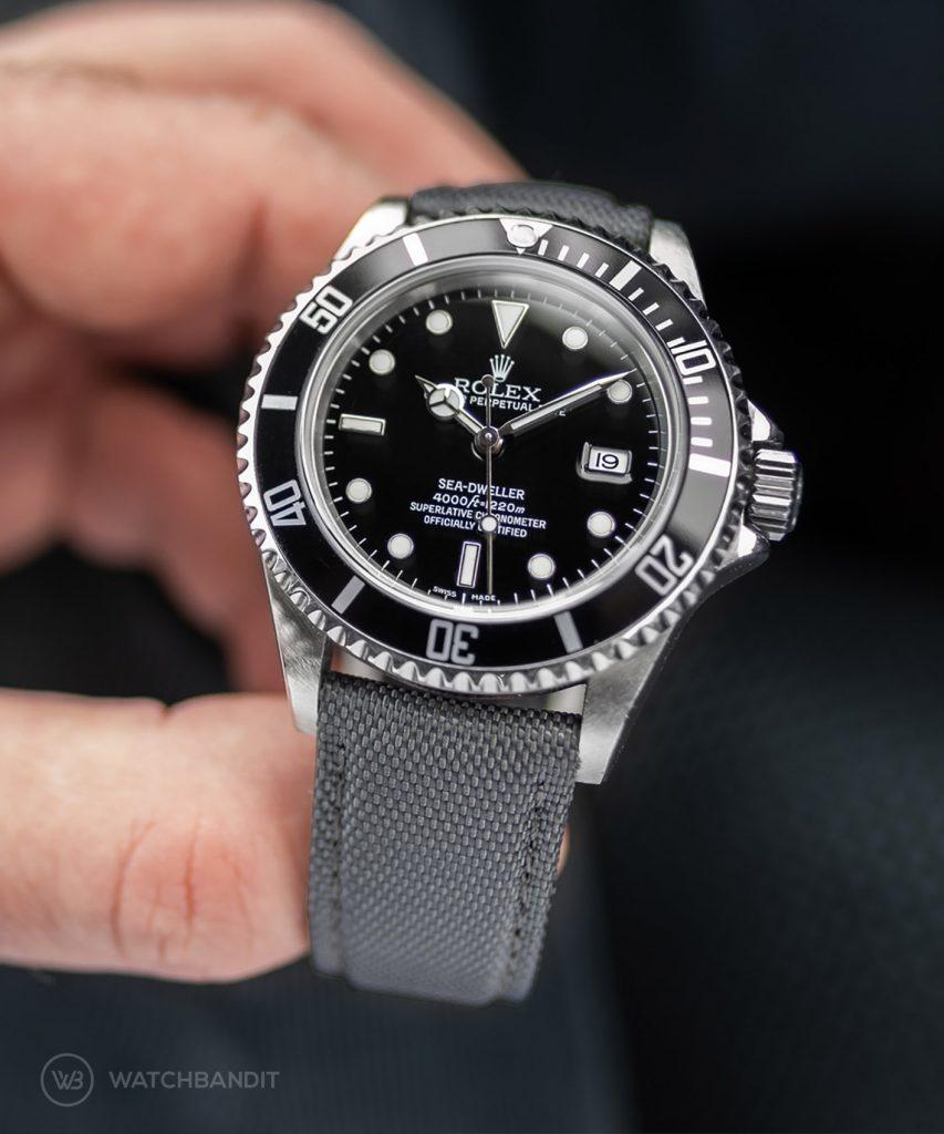 Rolex Swadweller Watchbandit Cordura Strap Grey