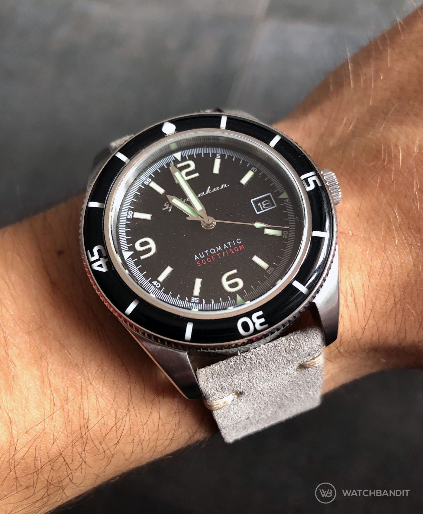 Spinnaker Fleuss + Uhrenarmband Ratgeber WatchBandit