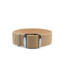 Watchbandit Premium Perlon Watch strap beige