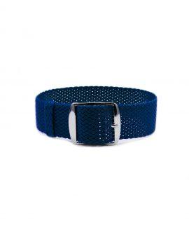 Watchbandit Premium Perlon Watch strap blue