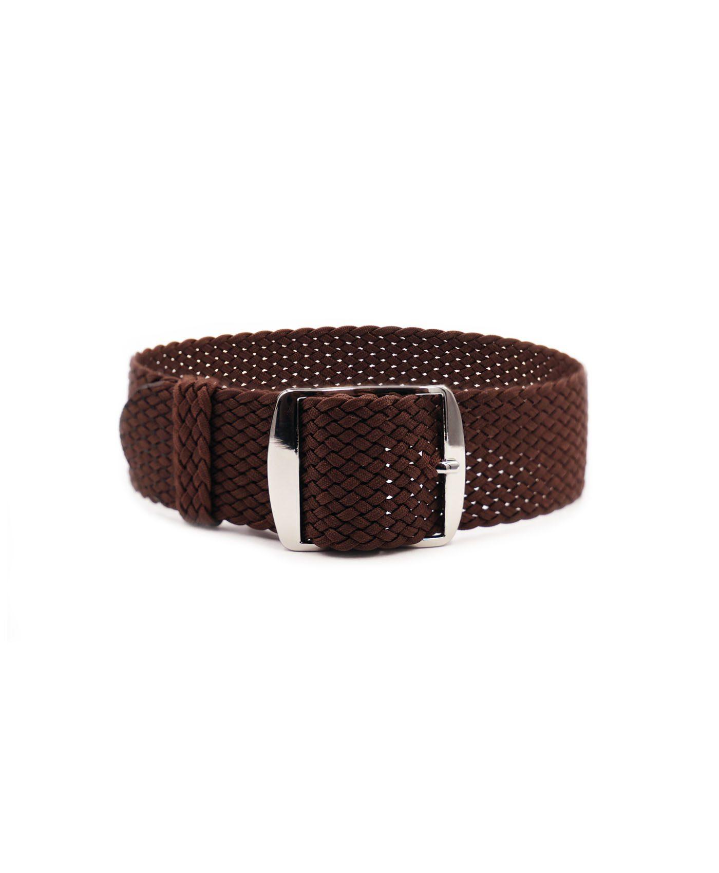 Watchbandit Premium Perlon Watch strap brown