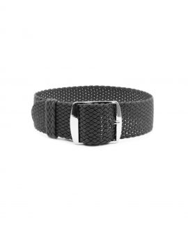 Watchbandit Premium Perlon Watch strap dark grey