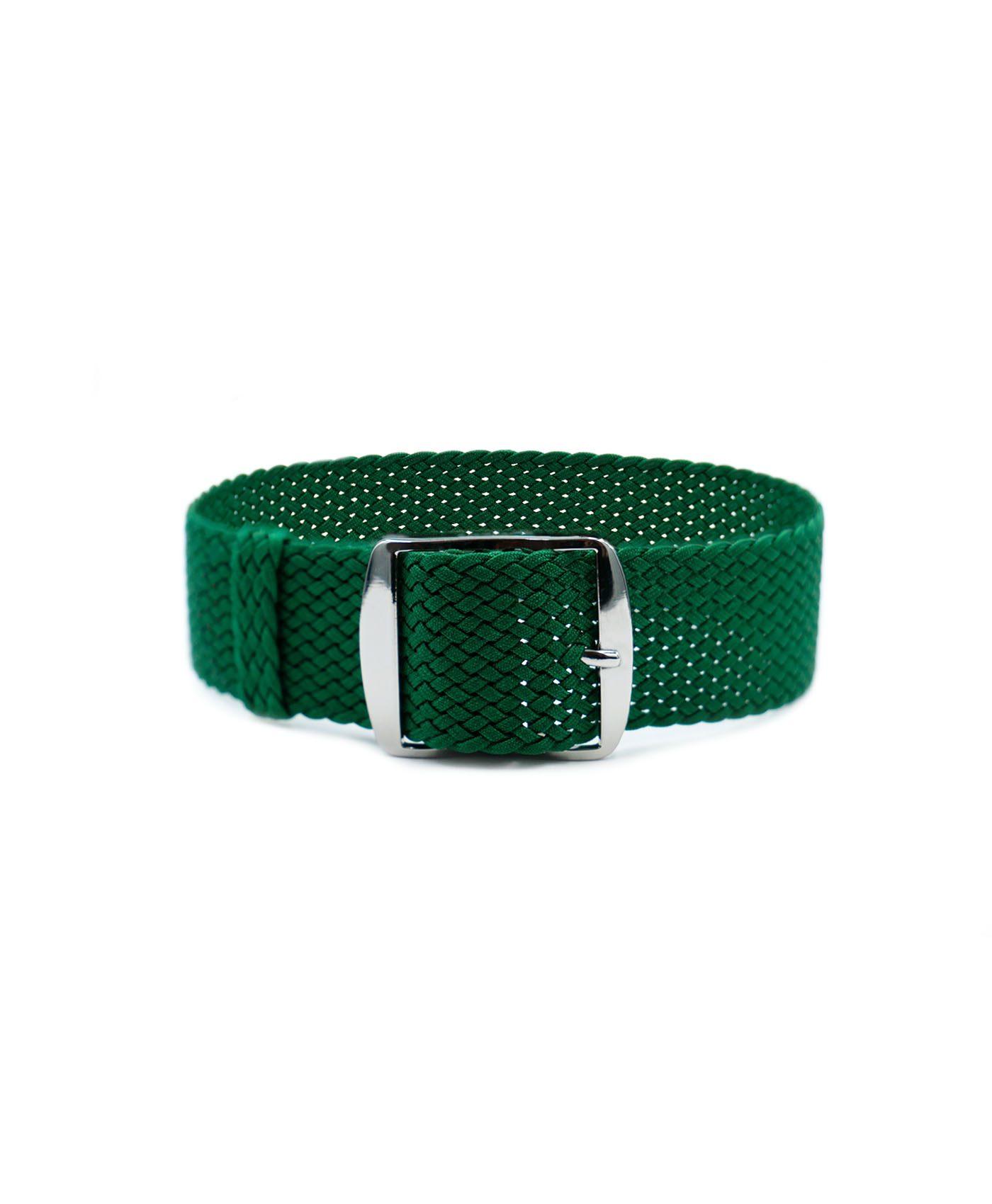 Watchbandit Premium Perlon Watch strap green