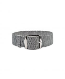 Watchbandit Premium Perlon Watch strap light grey