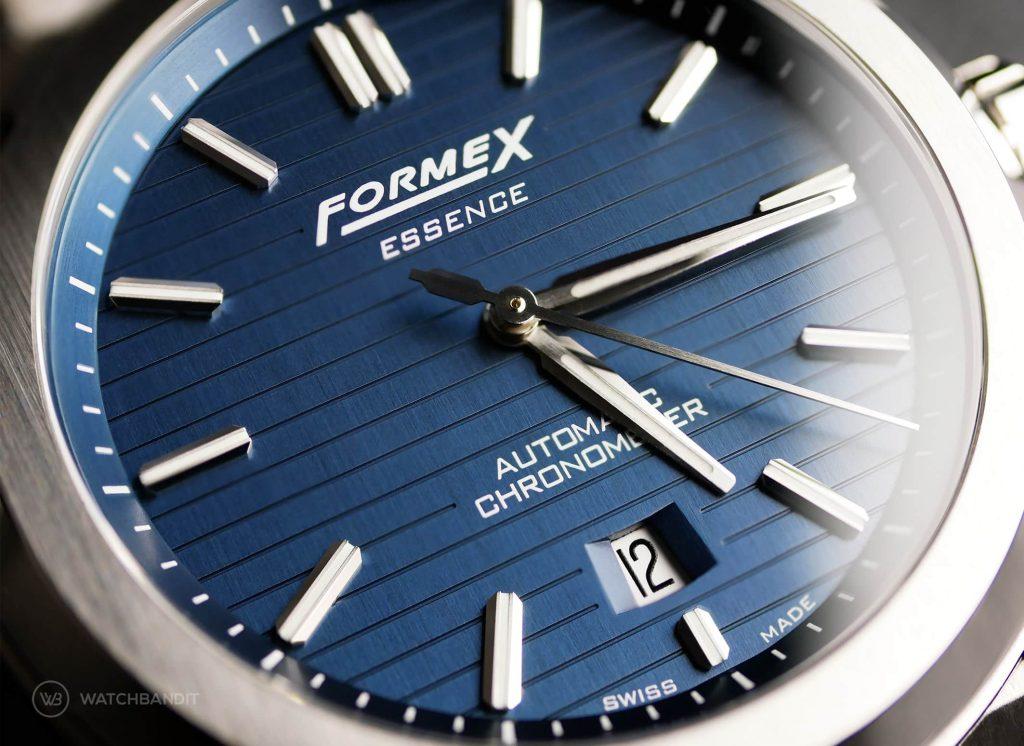 Formex Essence Chronometer Dial Macro