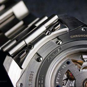 Schnellverschluss des Edelstahlarmbands der Formex Essence Chronometer