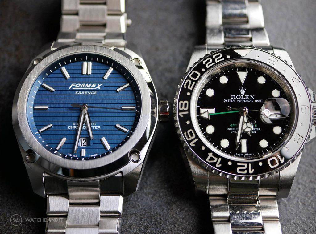 Formex Essence Rolex GMT Master II comparison