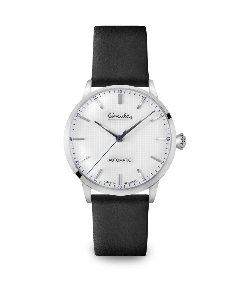 WB Circula - Classic Automatic White - Leather Black