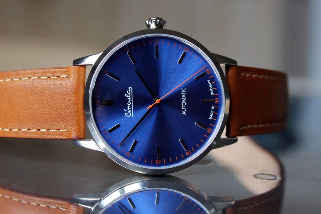 Circula Klassik Automatik Blau