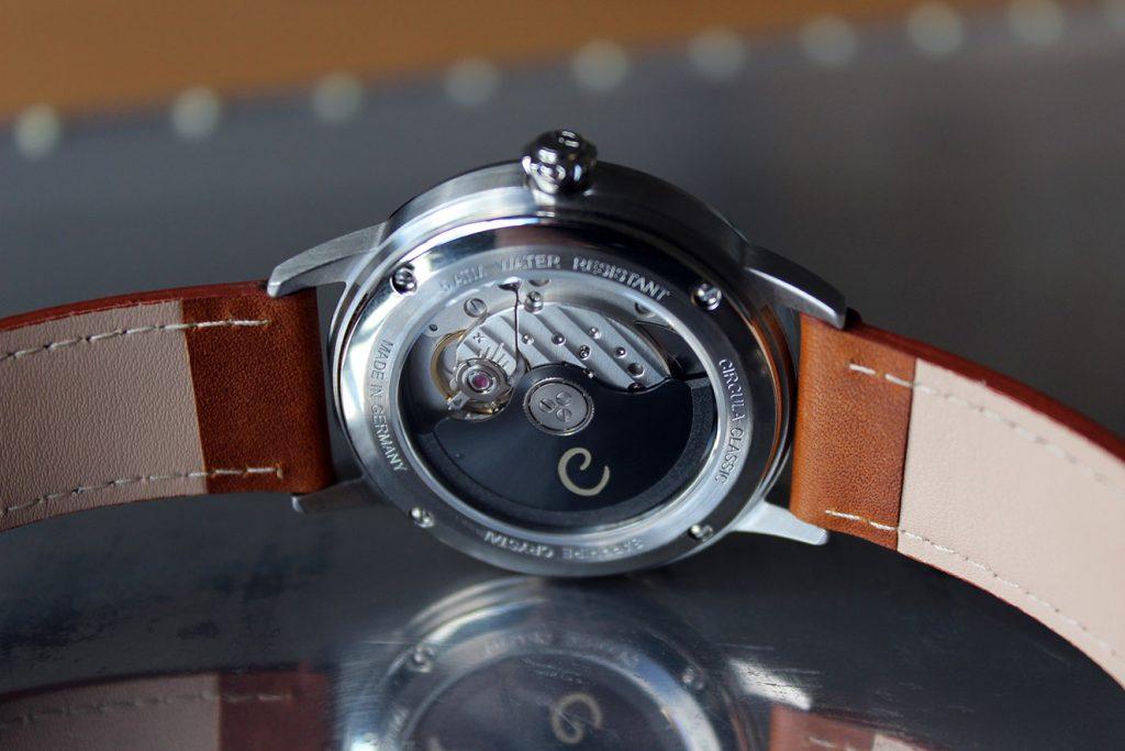 Circula Circula Klassik Automatik Uhrwerk Miyota 9015