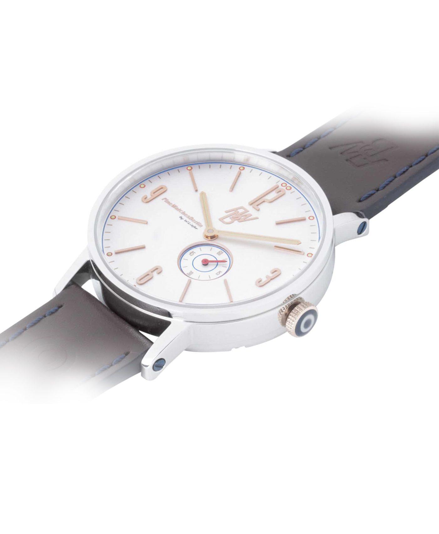 WB Watch fine watches berlin TEUFELSBERG rose 4 side