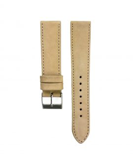 Pebro Premium Calfskin Watch Strap Terracotta/Tanned No 190