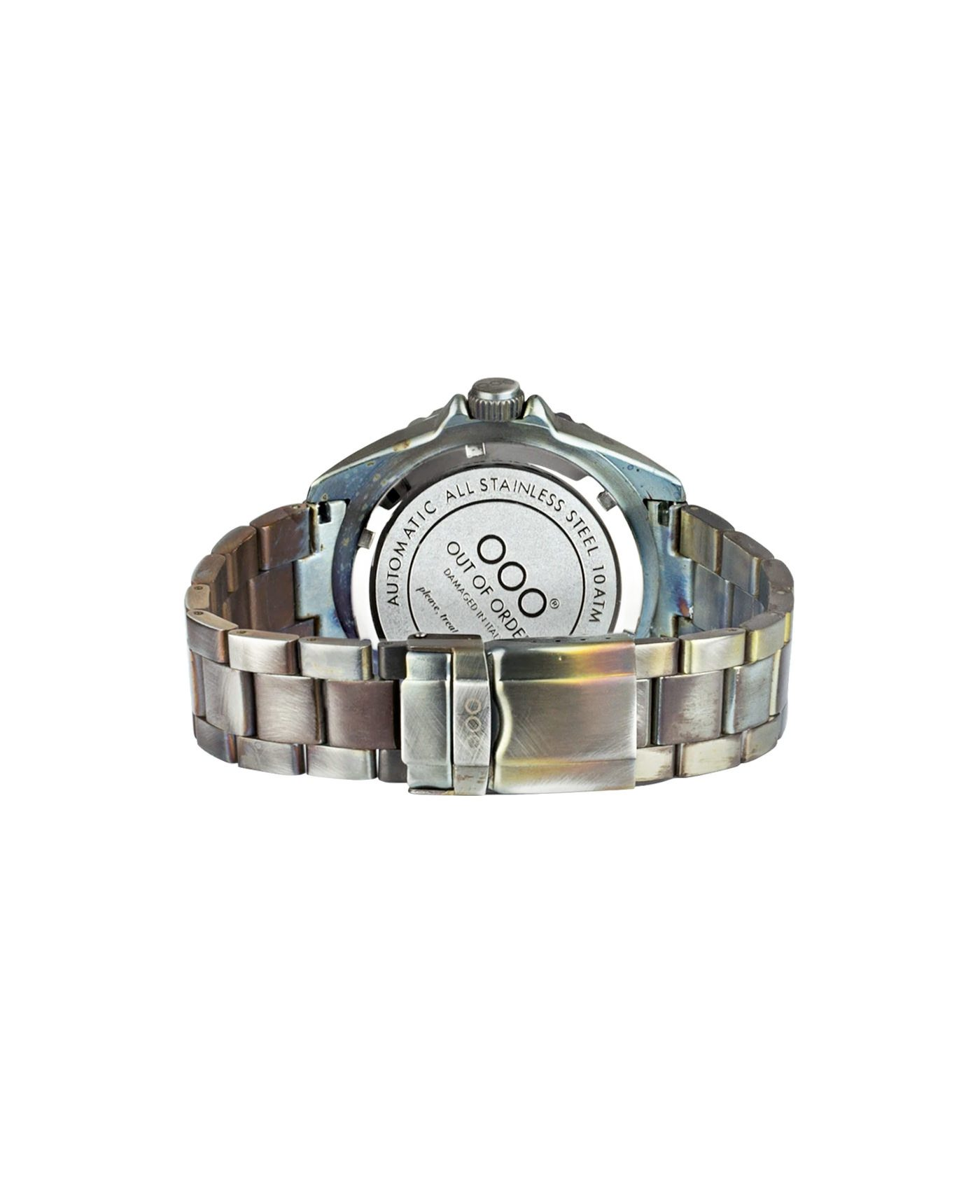 WB Watch Out Of Order Automatico blue back