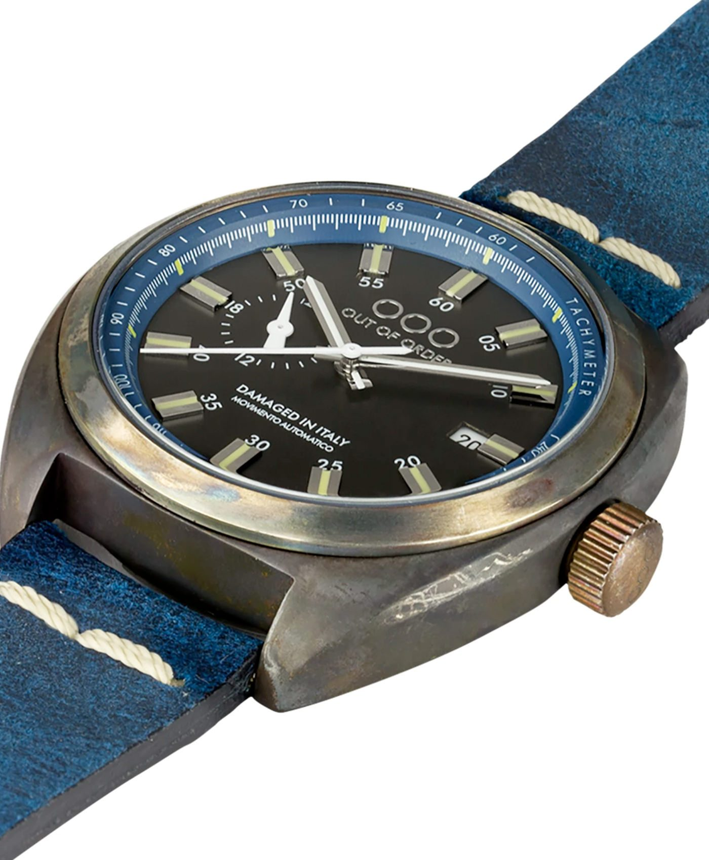 WB Watch Out Of Order Torpedine blue side