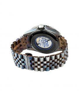 WB Watch Out Of Order Blue Swiss Automatico back
