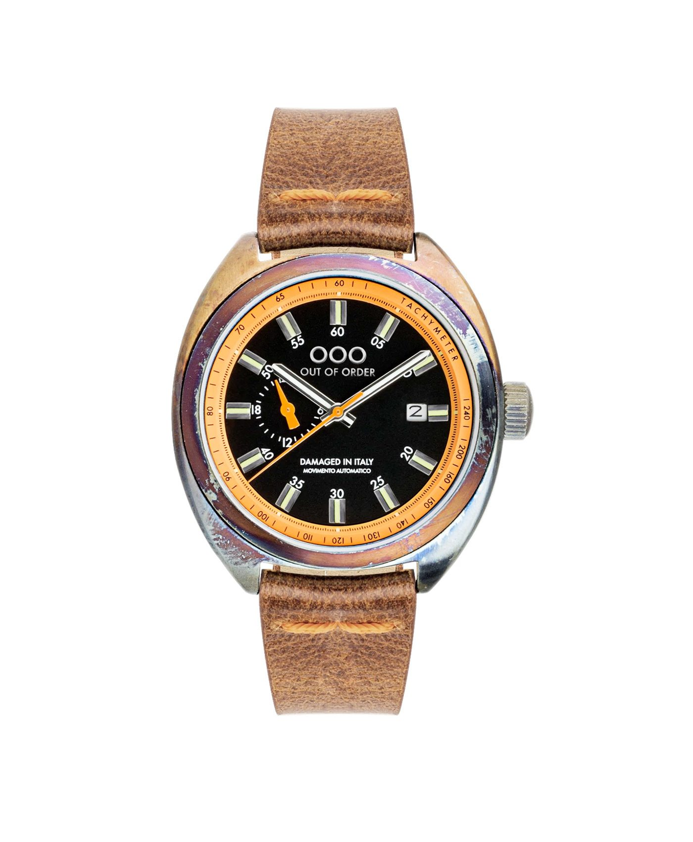 WB Watch Out Of Order Torpedine Orange front