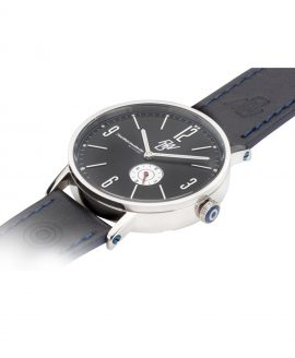 WB Watch fine watches berlin TEUFELSBERG black 1side