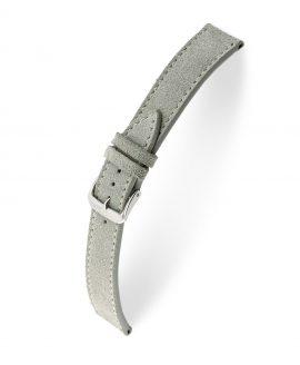 RIOS1931 Franklin Suede Watch Strap Grey 15203 Watchbandit