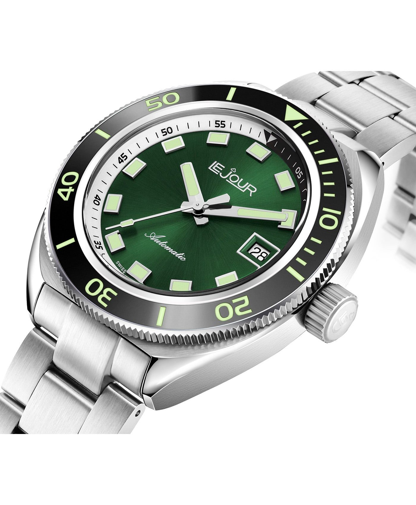 LeJour Hammerhead dive watch HH-004 side case