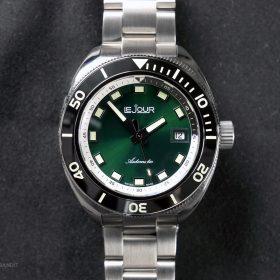Le Jour Hammerhead green dial LJ-HH-004