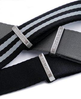 Watchbandit Wristporn NATO engraved stainless steel hardware
