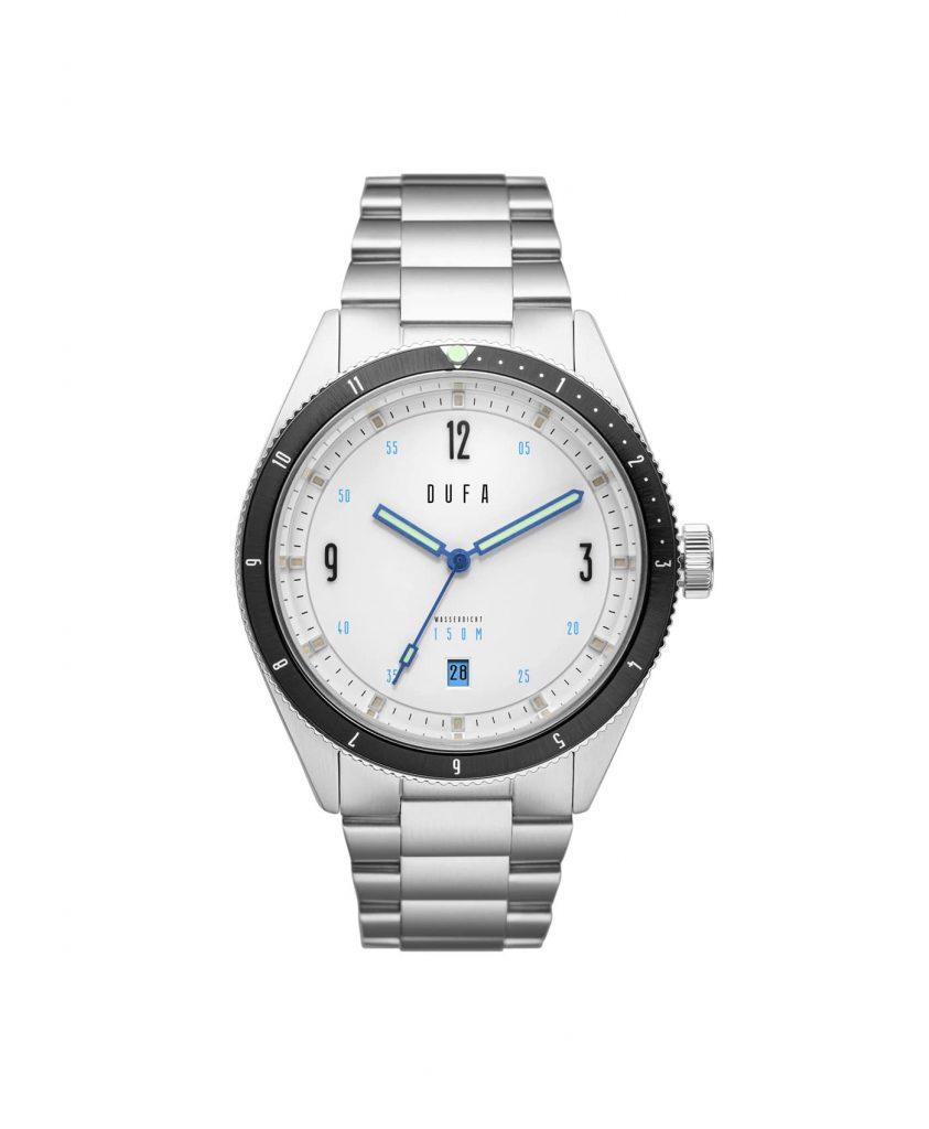 DuFa - Freitaucher Automatic - Silver White dial