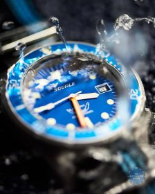 Squale 1521 Series 026 A sandblasted Watchbandit Water drop
