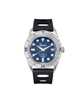 Squale SUB-39 RD blue dial front