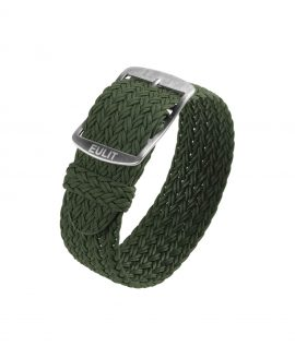 Eulit Perlon Watch Strap_Olive Green