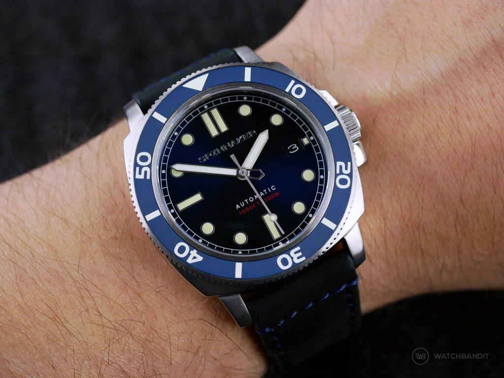 Spinnaker – Hull Diver – SP-5088-02 - Wrist shot